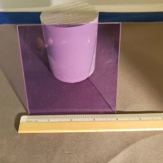 Picture of True Didymium™ Sheet Filter Glass
